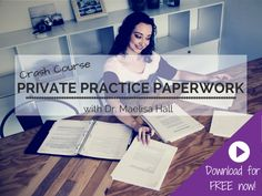 Paperwork help for private practices!