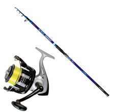 Kit Surfcasting Canna Falcon Wild Sea Cast 150Gr  Mulinello Dayton 6500