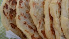 This recipe makes the best naan I have tasted outside of an Indian restaurant. I can't make enough of it for my family. I serve it with shish kabobs, but I think they would eat it plain.