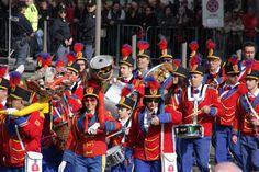 Sanremo festa dei fiori . Banda musicale