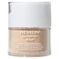 Revlon ColorStay Aqua Mineral Finishing Powder.