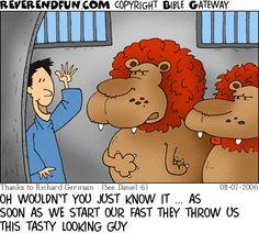 The Reverend Fun-Free Christian cartoons
