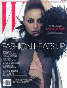 Mila Kunis - W Magazine Cover [United States] (March 2011)