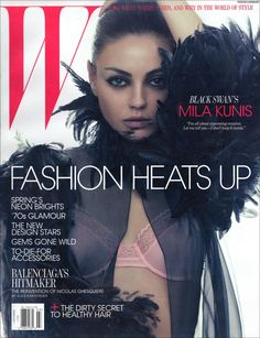 Mila Kunis - W Magazine Cover [United States] (March 2011)