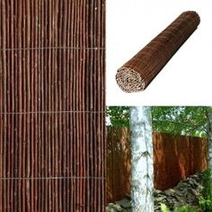 True Products Premium Air Dried Willow Natural Garden Fence Privacy Screening for x Fencing Panel Diy Screen Door, Sliding Screen Doors, Screen House, Garden Privacy Screen, Outdoor Privacy, Privacy Screens, Fence Screening, Willow Screening, Backyard Fort
