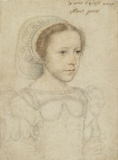 Francois Clouet, Portrait of Mary Queen of Scots, c.1549