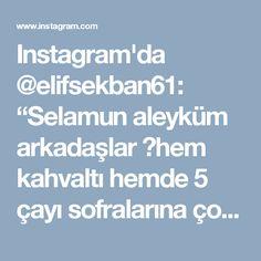 """Instagram'da @elifsekban61: """"Selamun aleyküm arkadaşlar 🙋hem kahvaltı hemde 5 çayı sofralarına çok yakışan tuzlu bir kek 🌿Patatesli kek🌿 3 yumurta 1 su bardağı sıvıyağ…"""""""