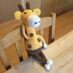 #ShareIG Enda en giraff  #bareanette #hekling #heklespam #melvin