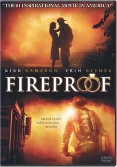 Fireproof is a 2008 American Christian drama film about a couple whose marriage is falling apart, and it takes a 40-day devotional to help it survive.