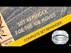 Awareness Tai Chi Complete Set Reminder - YouTube