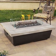 Real flame hamilton 44 in x 13 the outdoor greatroom pany kenwood 32 inch rectangular gas fire pit table rectangular fire pit table propane elementi … Outdoor Fire Pit Table, Propane Fire Pit Table, Gas Fire Table, Fire Pit Backyard, Outdoor Living, Pool Backyard, Outdoor Decor, Rectangular Gas Fire Pit, Natural Gas Fire Pit