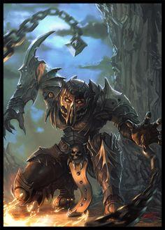 Scorpion from Mortal Kombatjho
