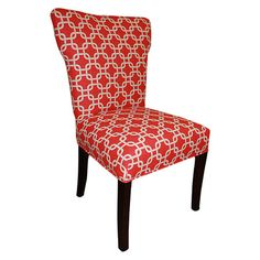 Found it at Wayfair - Bella Chair in Red (Set of 2)