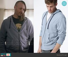 Tandy's blue hoodie on Last Man on Earth.  Outfit Details: https://wornontv.net/57468/ #LastManOnEarth