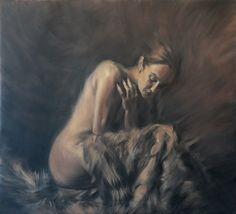 Emiliano Capotorto:  Beyondoil on canvas 110x100cm
