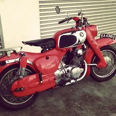my 1966 Honda C72 Dream after 6months finally fully restored