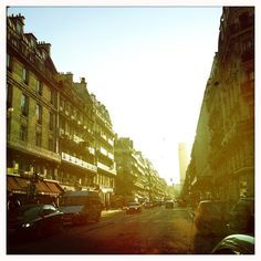 Rue de Rennes on a sunny day