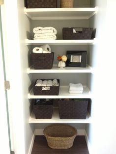 There Are A Lot Of Good Ideas In The Full Post Note The Simple Bathroom Organizationorganization