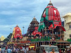 Preparations are one for one of the most amazing Indian Festivals - the Jagganath Yatra. Thousands gather to pull the Chariots of the Gods - becoming an almost unstoppable force. Hence the word Juggernaut! #RathYatra #RathYatra2016