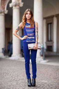 Hanneli Mustaparta - Best 2011 Street Style - Harper's BAZAAR