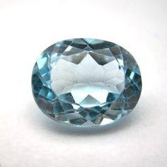 3.24 Carat Natural Blue Topaz Gemstone   #bluetopaz #gemstones #gemstonejewelry #stone #gemwiki #jewellery #astrology #astro Topaz Gemstone, Gemstone Jewelry, Blue Topaz Stone, Pink Topaz, London Blue Topaz, Astrology, Decorative Bowls, Gemstones