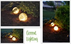 Interesting DIY Outdoor Lighting Ideas For Your Beautiful Yard : Diy Outdoor Lighting Ideas On The Ground