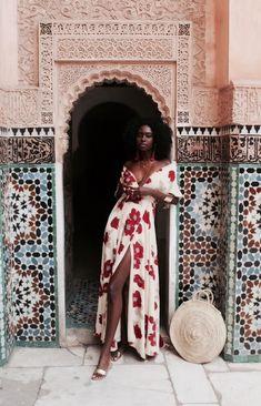 Ideas For Fashion Summer Black Girl Mode Outfits, Fashion Outfits, Womens Fashion, Fashion Clothes, Look Boho, Looks Black, Spring Dresses, Maxi Dresses, Dress Summer