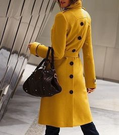 Stylish Turn-Down Collar Double-breasted Jag Long Edition Cashmere Solid Color Women's Coat, WHITE, M in Jackets & Coats | DressLily.com