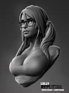 ArtStation - Lolly bust, Boris Dyatlov