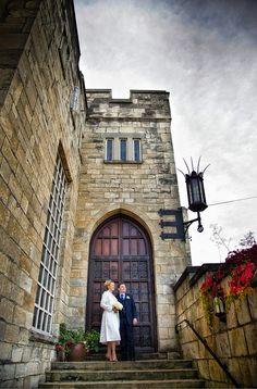 Wedding Photography at Hazelwood Castle by Bristo Photography Hazelwood Castle, Elegant Wedding, Wedding Reception, Koi Carp, West Yorkshire, Grand Entrance, Wedding Images, Pond, Backdrops