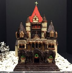Trinity Church—architect Henry Hobson Richardson's landmark 1877 Romanesque revival building in Copley Square—retains its grandeur in this monumental chocolate and cookie construction by Goody Clancy of Boston. (Courtesy)