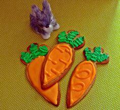 Migdałowe ciasteczka w kształcie marchewki! Przepis na thebigbaketheory.blogspot.com