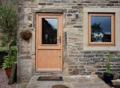 Beeston composite stable door in Golden Oak Composite Door, Golden Oak, See Images, Stables, Composition, Windows, Doors, June, Home Decor