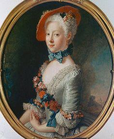 Antoine Pesne: Gräfin Juliana Wilhelmine von Bose