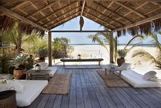 Lounge at Casa Uxua Hotel in Trancoso - one for the bucket list!