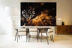 Iluminação da sala de jantar, pendentes e lustres leves e modernos - eh!DÉCOR