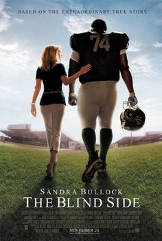 """Michael Oher: It's nice, I never had one before.   Leigh Anne Touhy: What, a room to yourself?   Michael Oher: A bed."" The Blind Side"