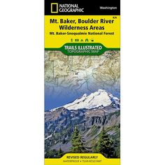 Trails Illustrated Mount Baker Boulder River Wilderness Area 826 >>> Check this awesome product by going to the link at the image.