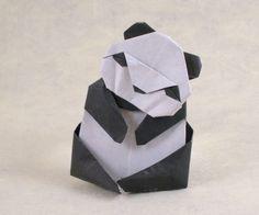 Origami Panda by Akira Yoshizawa folded by Gilad Aharoni