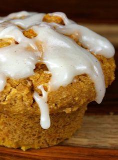 Whole Wheat- Pumpkin Spice Muffins