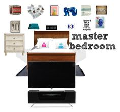 """""""master bedroom"""" by themeltonkids on Polyvore featuring interior, interiors, interior design, home, home decor, interior decorating, Toast, Hatcher & Ethan, Ethan Allen and Stanley Furniture"""