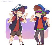 Dipper and Dippy Fresh xD this was hilarious