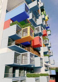 Container concurso favela Mumbai arquitetura sustentabilidade arranha ceu arquitete suas ideias (4)