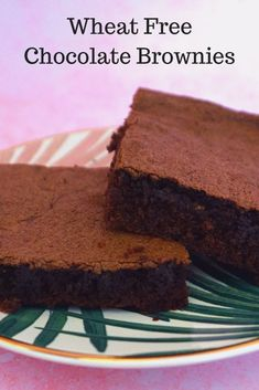 wheat free brownies,