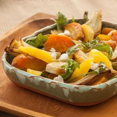 Golden Beet and Fennel Salad, a recipe from ATCO Blue Flame Kitchen's From the Grill 2014 cookbook.