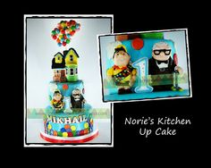 Norie's Kitchen - Up Cake by Norie's Kitchen, via Flickr