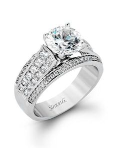 Simon G. Jewelry MR2425 Engagement Ring photo