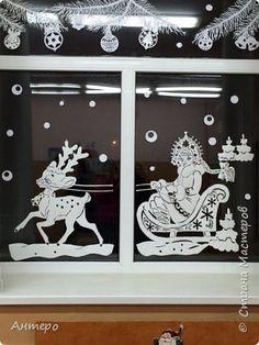 Интересная информация про Украшаем окна к Новому году на сайте Магический декор полностью ответит на все ваши вопросы про Украшаем окна к Новому году