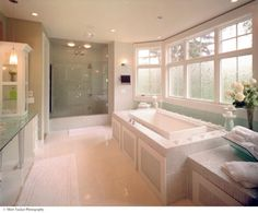 A Beautiful Custom Master Bath for Schumacher Homes by Schumacher Homes, via Flickr