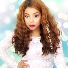 This is Outre Bliss Lace Front Wig. A full, wavy style. Large waves are the star of this style. It has decent parting and amazing density. It does tangle quite a bit and a little shedding too. It's a really…Read more ›
